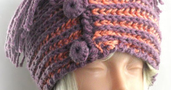 Hand Knitted Headbands Patterns : free crochet headband ear warmer pattern Hand Knit Ear Warmer Headband with...