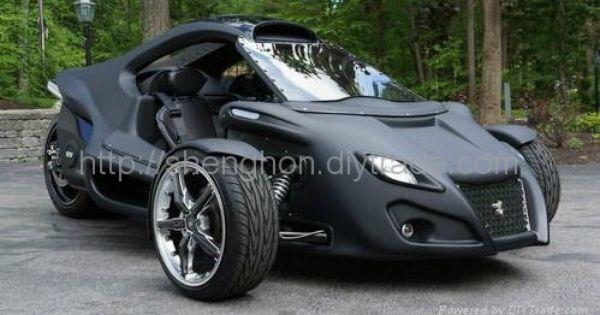 Three Wheel Motorbikes For Adults 2012 Hot 300cc Three