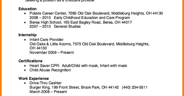 child care provider resumeilcare resume exampleg sample perfect - child care provider resume sample