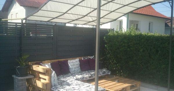 sitz lounge aus euro paletten einfach und g nstig und so. Black Bedroom Furniture Sets. Home Design Ideas