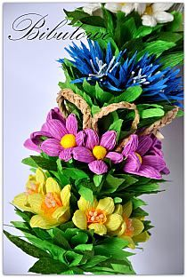 Nauka I Natura Na Stylowi Pl Paper Flowers Easter Decorations Paper Crafts