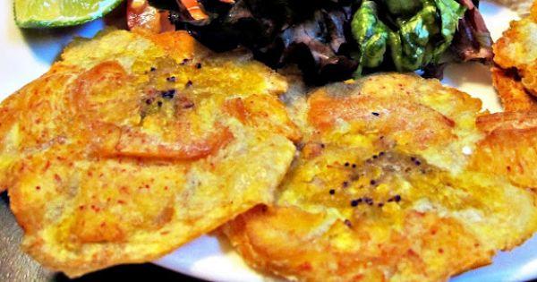 tostones | Mexican/Latin food | Pinterest