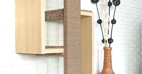 ein g nstiger designer kratzbaum kratzm bel mit sch nem design tiere pinterest kratzm bel. Black Bedroom Furniture Sets. Home Design Ideas