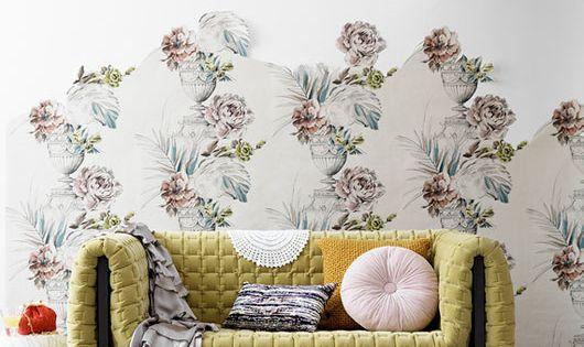 Wallpaper idea photo by stellan herner, styling by lo bjurulf for elle