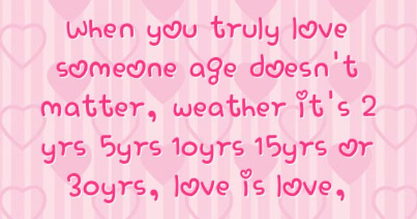 love and age differenc...