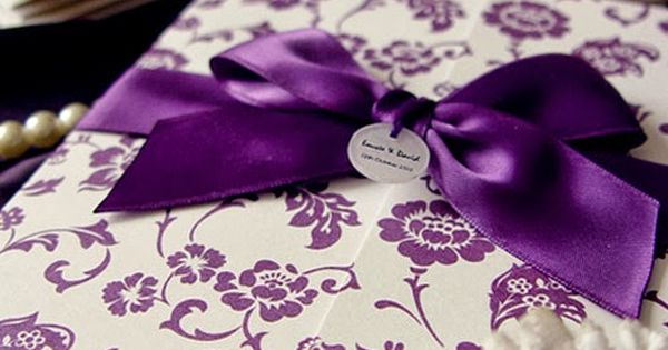 Quince Invitations 10 Shades Of Purple