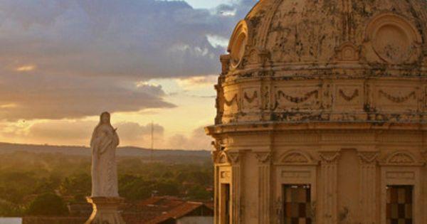Bell Tower Iglesia De La Merced Granada Nicaragua