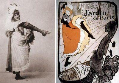 Jane Avril Toulouse Lautrec Toulouse Lautrec Henri De Toulouse