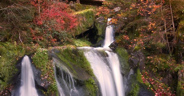 Black Forest Waterfall Triberg Germany Photography Waterfalls Pinterest Nature