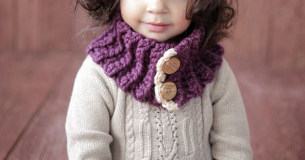 Crochet Free Pattern Muff : CROCHET PATTERN Cowl and Muff The VIOLET Girl Toddler ...