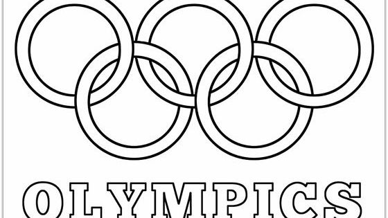 Olympic Rings Printable Coloring Pages | Daycare Fun ...
