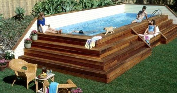 la petite piscine hors sol en 88 photos petite piscine. Black Bedroom Furniture Sets. Home Design Ideas