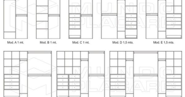 Closets cosas que adoro pinterest kast - Plan slaapkamer kleedkamer ...
