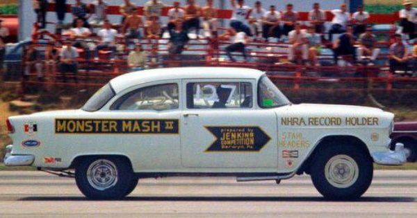 Jenkins Competition Monster Mash 55 Chevy Drag Racing Cars 55 Chevy Drag Cars