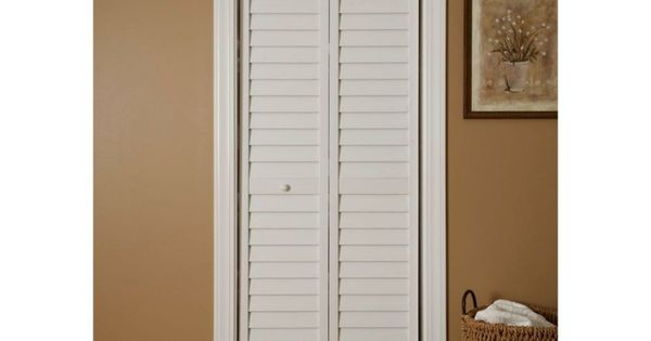 Porte blanche persienne mini sdb pinterest more best design ideas for Porte placard blanche