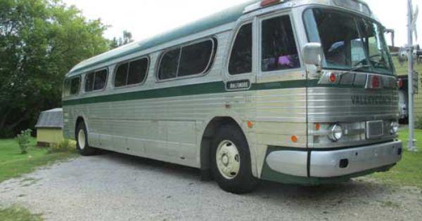 1960 General Motors Coach Pd 4104 Capital Bus Company