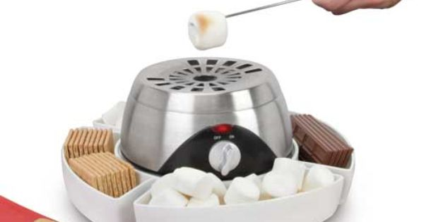 The Indoor Flameless Marshmallow Roaster - Hammacher Schlemmer good gift ideas