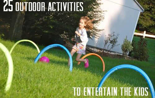 25 outdoor kid games