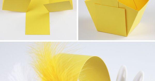 anleitung osterk rbchen basteln paper crafts pinterest easter kindergarten. Black Bedroom Furniture Sets. Home Design Ideas