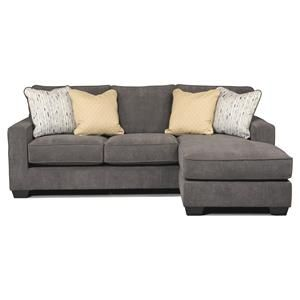 Signature Design By Ashley Hodan Marble Sofa Chaise Chaise Sofa Chaise Lounge Sofa Ashley Furniture Sofas