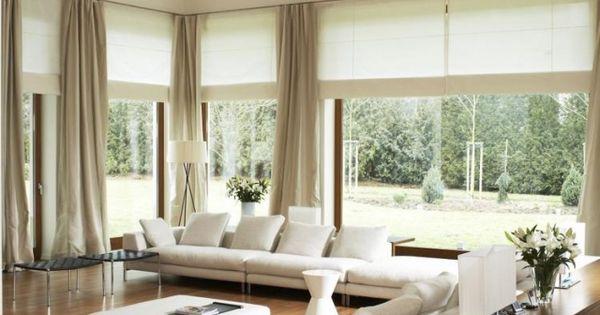 wohnzimmer-modern-weisse-polstermoebel-holzboden ❤️Unser - wohnzimmer modern gemutlich