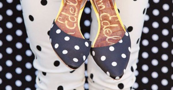 Polka Dot shoes fashion shoes girl fashion shoes my shoes