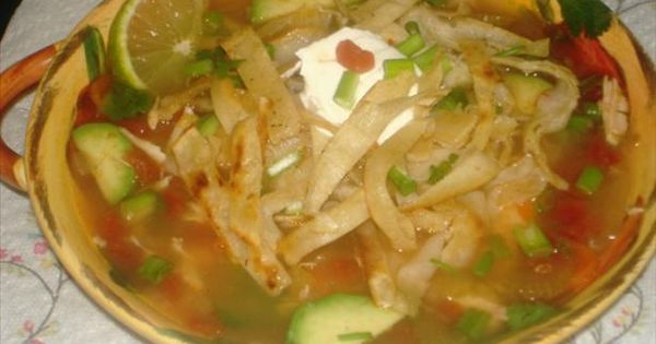 ... Yucatan Lime Soup) | Foods - Soups and Curries | Pinterest | Soups