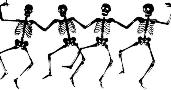 Dancing Skeletons Png 500 255 Halloween Skeletten Halloween Dance