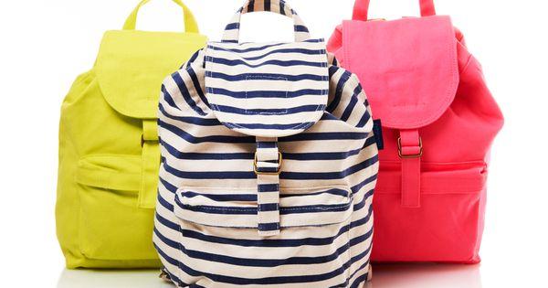 Baggu Backpacks neon