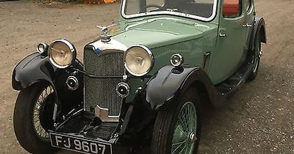 Riley 9 Kestrel 1934 British Cars Classic Cars British Vintage Cars