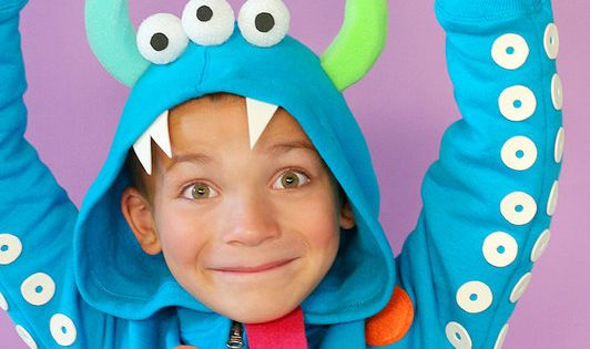 DIY Halloween costumes for kids -- so cute and so easy!