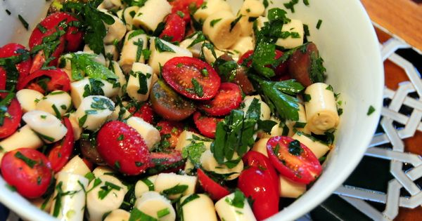 ... ! | YUM!!! | Pinterest | Palm Hearts, Palms and Cherry Tomato Salad