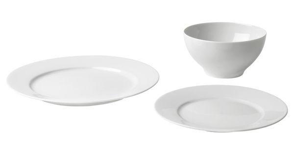ikea 365 18 piece dinnerware set ikea tahoe house pinterest servies ikea en. Black Bedroom Furniture Sets. Home Design Ideas
