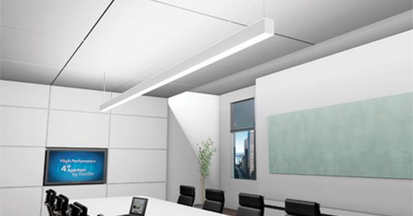 Finelite Hp4 Conference Room Corporate Interiors Ceiling Design Lighting Inspiration