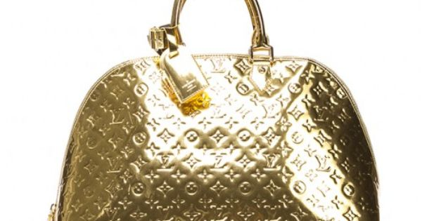 Louis vuitton gold leather miroir alma gm bag portero for Louis vuitton miroir replica