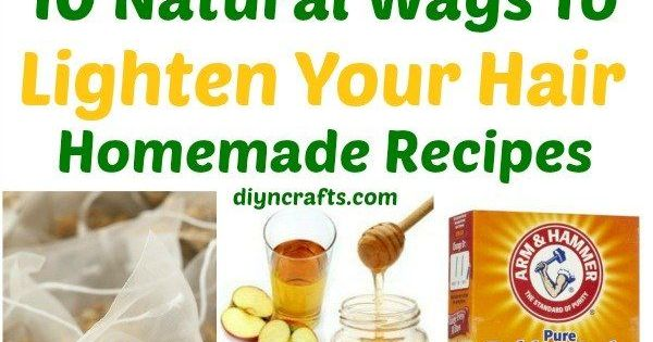 10 Ways to Lighten your Hair Naturally {Homemade Recipes