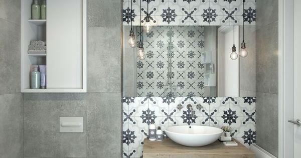 am nager un studio int rieurs design de moins de 30m2 petites salles de bain petite salle. Black Bedroom Furniture Sets. Home Design Ideas