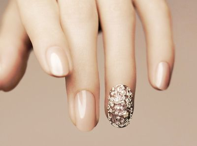 Oh so pretty nail idea!