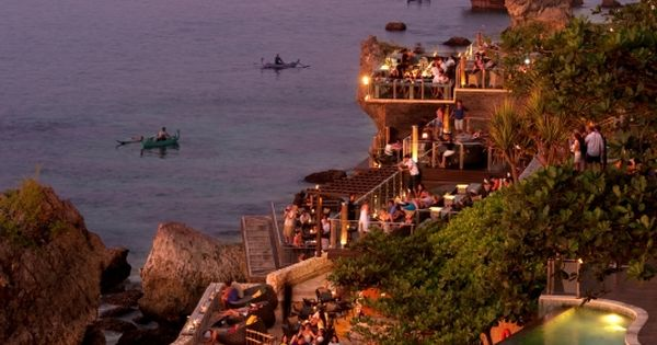 16 Best Beach Bars in the World, The Rock Bar at Ayana