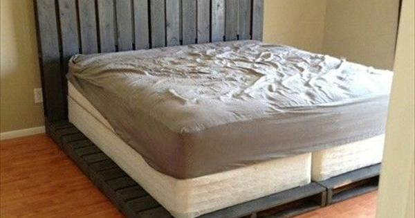 10 DIY Beds Made Out of Pallets | Wooden Pallet Furniture (+