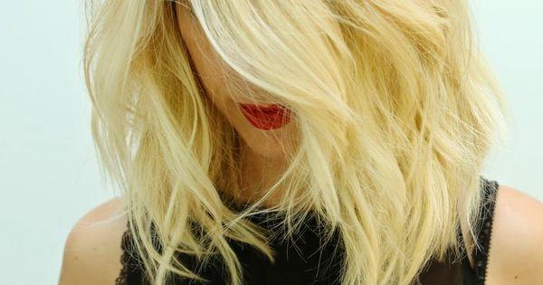blonde bob blonde lob hair (long bob)