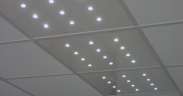 Dalles de plafond led star 600 fabrication francaise for Materiaux faux plafond