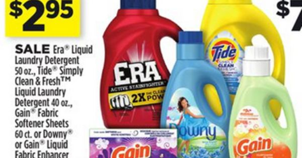 Tide Detergent Just 2 20 At Walmart Downy Just 2 45 Tide Detergent Cleaning Tide Simply Clean