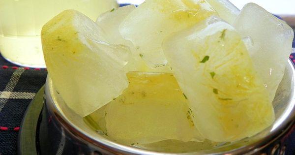DIY Chicken Broth Dog Treats- Chevy already loves ice cubes. He'd go