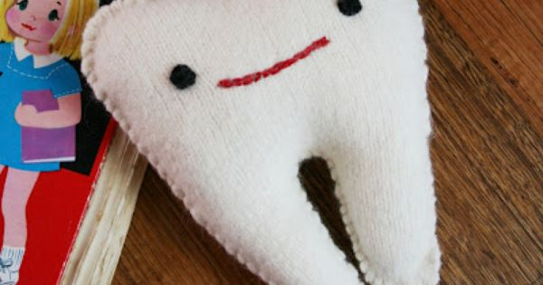 DIY Tooth Fairy Pillow PDF Pattern