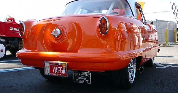 1960 Nash Metropolitan Custom Rear View Downtown
