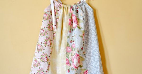 Fat Quarters Pillowcase Dress Tutorial