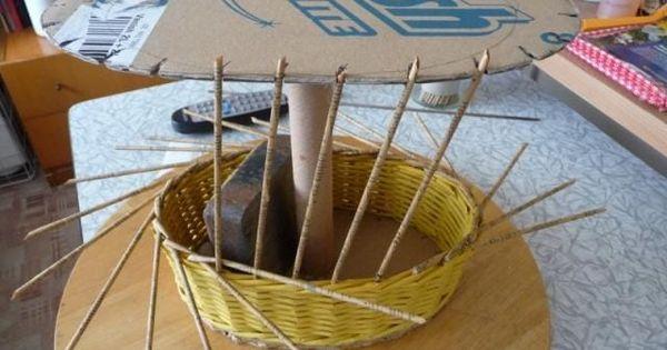 Приспособления для плетения из газет