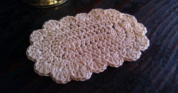 Crocheted Dollhouse Rug 1 12 Inch Scale Crocheted With