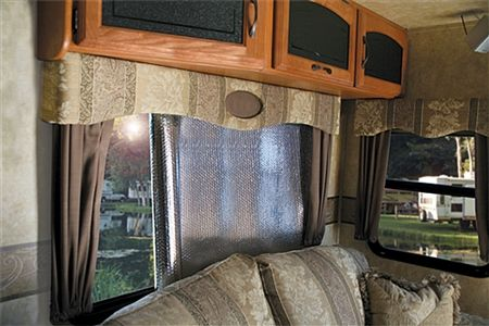 Camco 45166 Sunshield Reflective Window Cover 120 X 48 Window Coverings Rv Windows Camco
